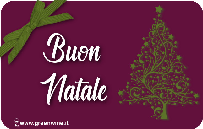 Gift Card Buon Natale